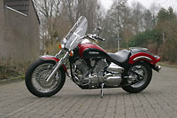 Easy Shift Touring op een Yamaha Dragstar